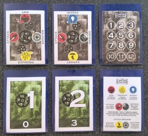 Sleeved versions of the final cards available (free to download) from Good Little Games