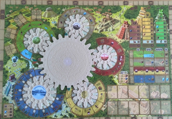 Tzolk'in: The Mayan Calendar: A four-sided game review (1/6)