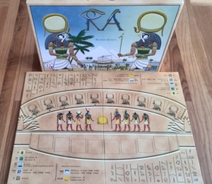 Ra board and box