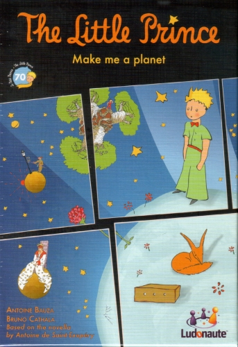 The Little Prince: Make me a Planet: A four-sided game (and book) review (1/6)