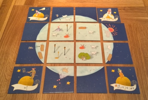 The Little Prince: Make me a Planet: A four-sided game (and book) review (4/6)