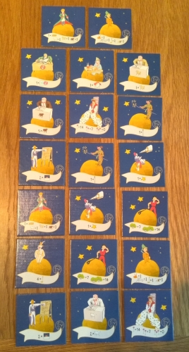 The Little Prince: Make me a Planet: A four-sided game (and book) review (6/6)