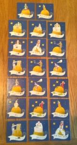 The Little Prince scoring tiles