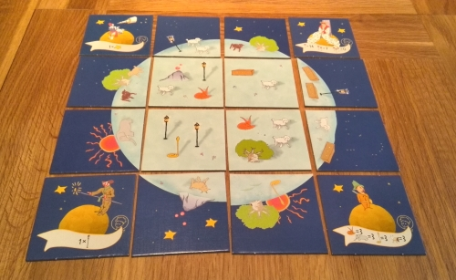 The Little Prince: Make me a Planet: A four-sided game (and book) review (3/6)