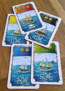 Handler ship cards